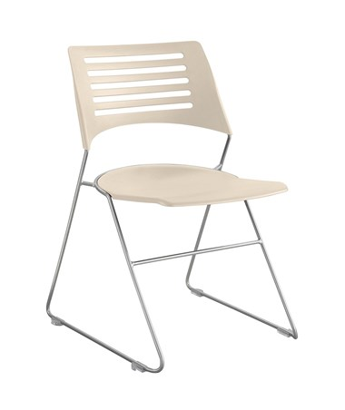 Safco Pique Stack Chair Latte 4289LTSL