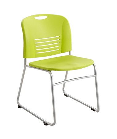 Safco Vy Sled Base Chair Grass 4292GS