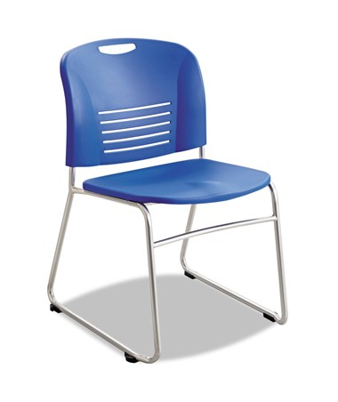 Safco Vy Sled Base Chair Lapis 4292LA