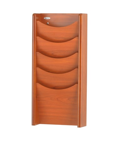 Safco Wood Magazine Rack