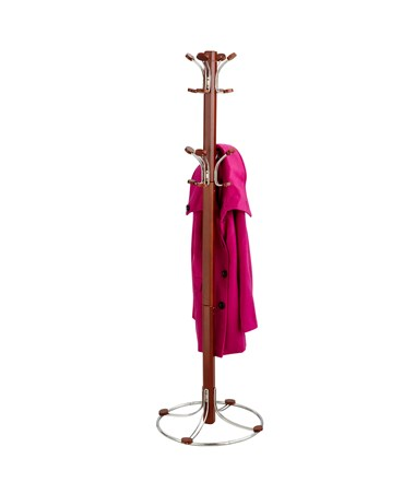 Safco Bamboo Coat Rack Cherry  4611CY