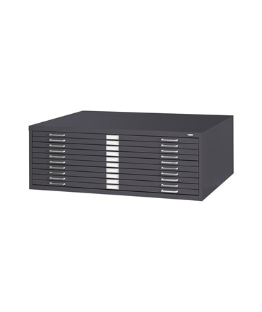 Safco 10-Drawer Steel Flat File SAF4986TS-