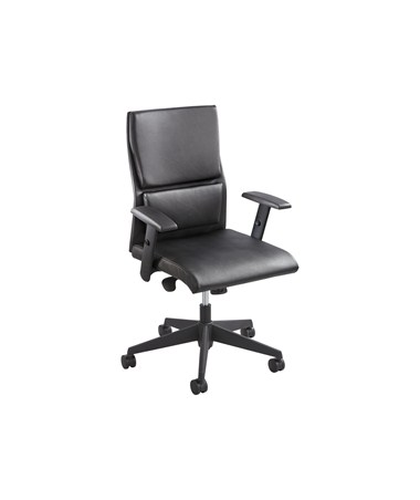 Safco Tuvi Mid Back Executive Office Chair 5071BL