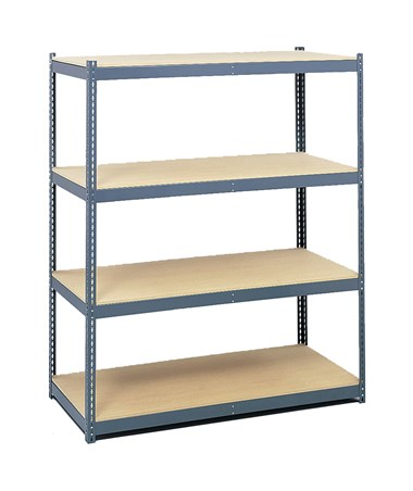 Safco Steel Pack Archival Shelving with Shelves (5260 & 5261)