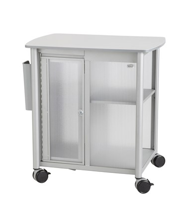 Safco Impromptu Personal Mobile Storage Center Metallic Gray 5377GR