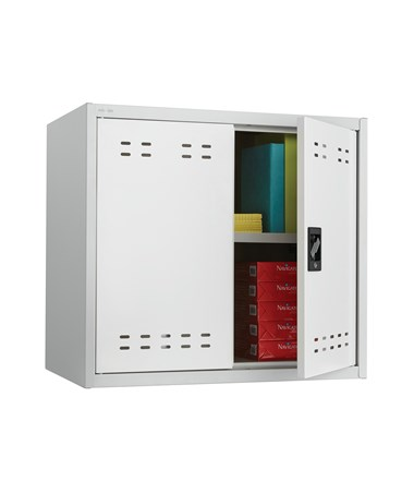 Safco Steel Storage Cabinet, Wall Mountable SAF5530GR-