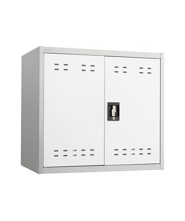 "Safco 27""H Wall Mountable Storage Cabinet 5530GR"