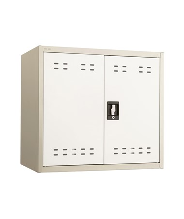 "Safco 27""H Wall Mountable Storage Cabinet Tan 5530TN"