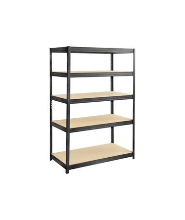"Safco Boltless Steel and Particleboard Shelving, 48""W x 18""D 6244BL"