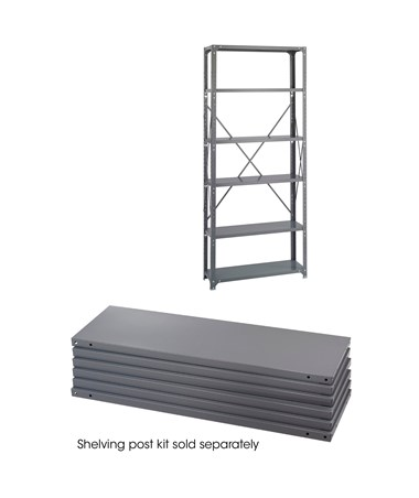 Safco Industrial 6-Shelf Pack