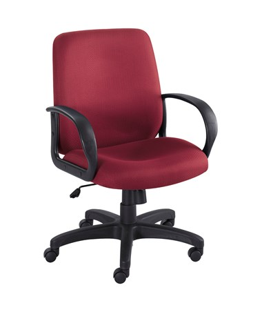 Safco Poise Executive Seating Burgundy 6301BG