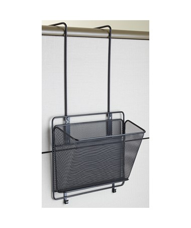 Safco Onyx Panel Organizer single Basket 6455BL