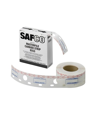 "Safco Carrier Strips for MasterFile 2, 2 ½""W Polyester Strip SAF6553"