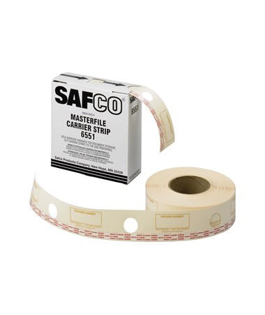 Safco Carrier Strips for MasterFile 2 SAF6551-