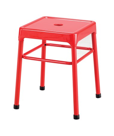 Safco Steel Guest Stool Red 6604RD