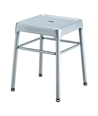 Safco Steel Guest Stool Silver 6604SL