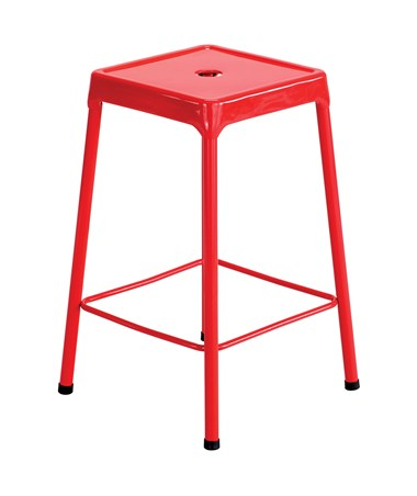 Safco Steel Counter Stool Red 6605RD