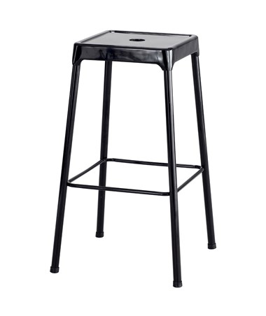 Safco Steel Bar Stool Black 6606BL