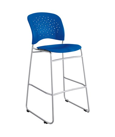 Safco Reve Bistro-Height Chair Lapis 6806LA (Blue 6806BU)