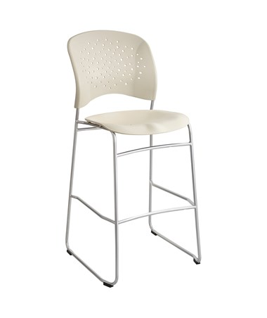 Safco Reve Bistro-Height Chair Latte 6806LT