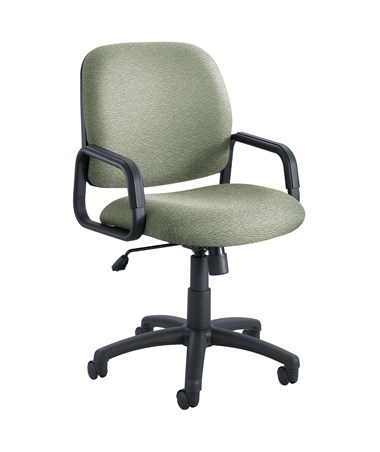Safco Cava Urth High Back Chair Green 7045GN