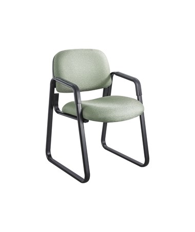 Safco Cava Urth Guest Chair Sled Base, Green 7047GN