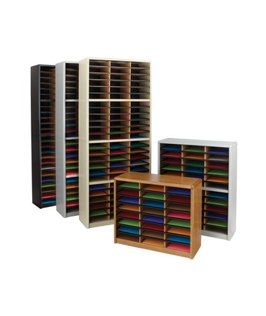 Safco Value Sorter Literature Organizer, 36 Compartment SAF7121