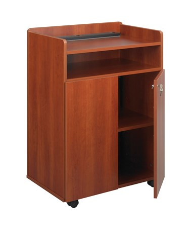 Safco Executive Presentation Stand Cherry 8919CY