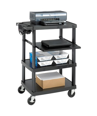Safco Multimedia Projector Cart 8929BL
