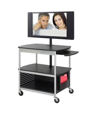 Safco Scoot Flat Panel Multimedia Cart