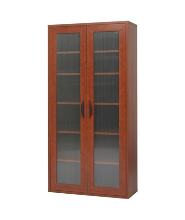 Safco Apres 2-Door Modular Storage Cabinet with 5 Shelves Cherry  sc 1 st  Tiger Supplies & Safco Apres 2-Door Modular Storage Cabinet Tiger Supplies