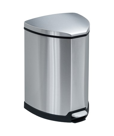 Stainless Step-On 4 Gallon Receptacle 9685SS
