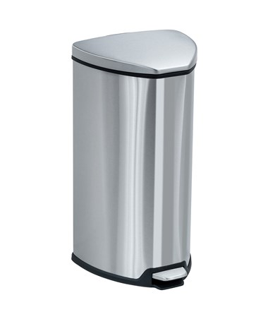 Stainless Step-On 7 Gallon Receptacle 9686SS