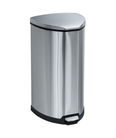Stainless Step-On 10 Gallon Receptacle 9687SS