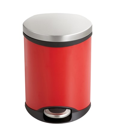 Safco Ellipse Step-On Waste Receptacle