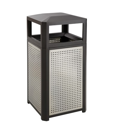 Safco Evos Series Steel Waste Receptacle