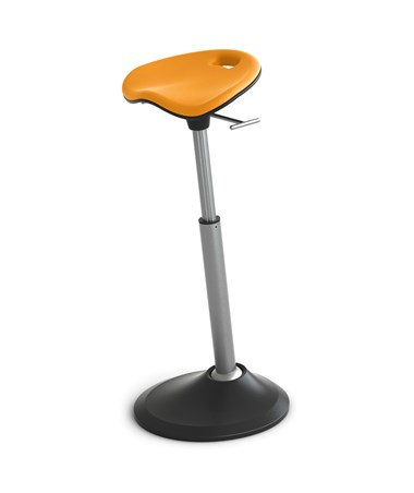 Safco Mobis Seat by Focal Upright Citrus FFS-1000-CT