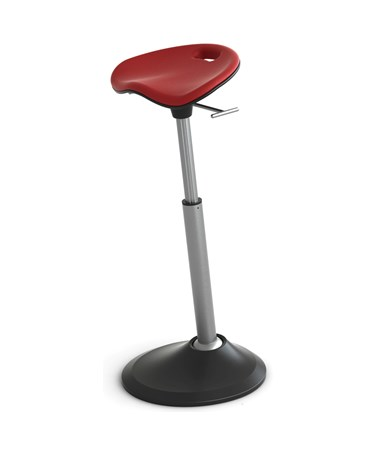 Safco Mobis Seat by Focal Upright Red FFS-1000-RD