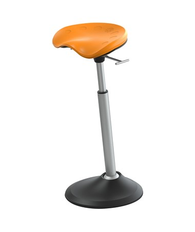 Safco Mobis II Seat by Focal Upright Citrus FFS-2000-CT