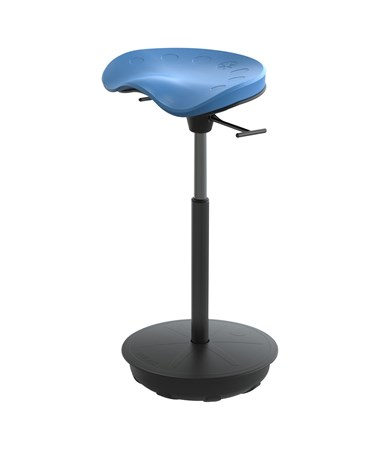 Safco Pivot Seat by Focal Upright Blue FWS-1000-BU