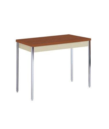 Sandusky Lee Activity or Utility Table (Putty with Oak Top)