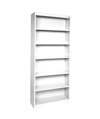 Five Shelves - White