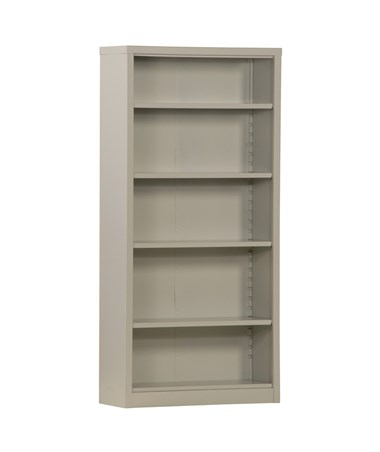With Four Shelves - Dove Gray