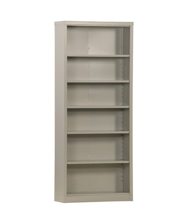 With Five Shelves - Dove Gray
