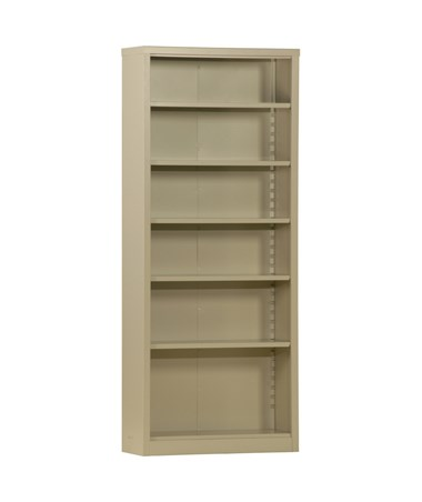 With Five Shelves - Putty