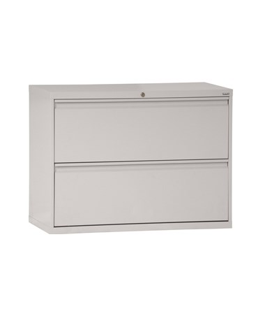 Two Drawers - Dove Gray