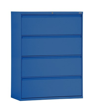 Four Drawers - Blue