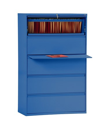 Five Drawers - Blue