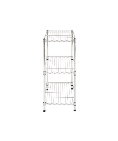 Sandusky Lee 3-Tier Chrome Light Duty Wire Shelving