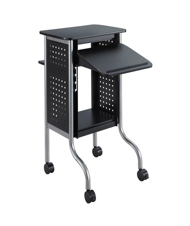Safco Scoot Presentation Cart SASF8945BL